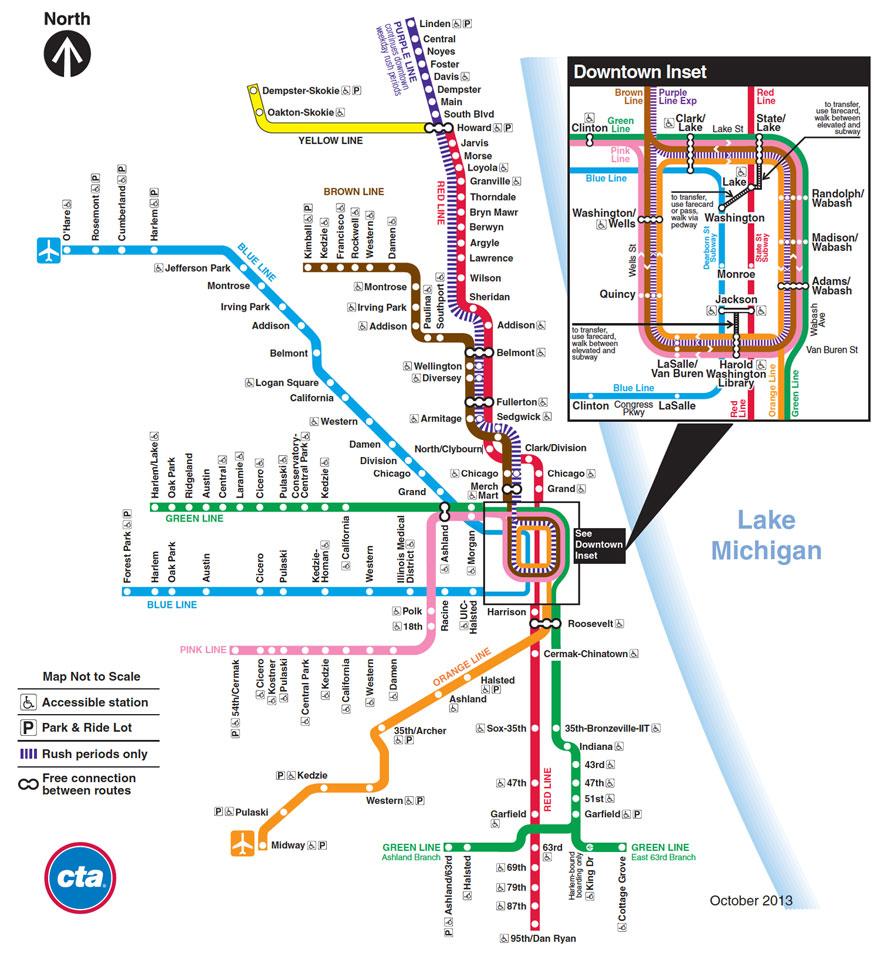 cta map · kickmap chicago . kickmap chicago