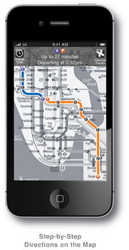 Nyc Subway Map App Iphone.Kickmap Nyc Subway Map For Iphone And Ipod Touch